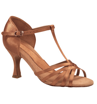 "Ladies ""Ashley"" 2.5"" Latin/Rhythm Ballroom Shoe - Style No BR197"
