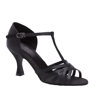 "Ladies ""Ashley"" 2"" Latin/Rhythm Ballroom Shoe - Style No BR198"