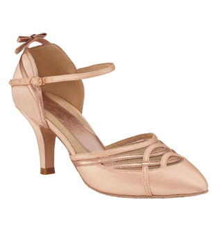 "Ladies ""Alicia"" 2"" Smooth Ballroom Shoe - Style No BR200"