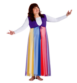 Worship Streamer Vest - Style No BW551