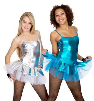 Metallic Camisole Tutu Dress - Style No BWT7610
