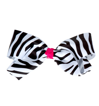 Ribbon Bow Hair Clip - Style No C28230
