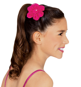 Satin Flower Clip - Style No C28262