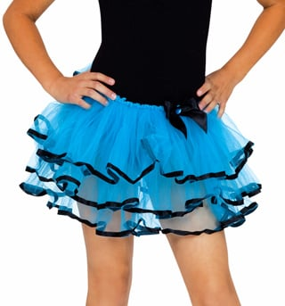 Tutu with Ribbon Trim - Style No C28281