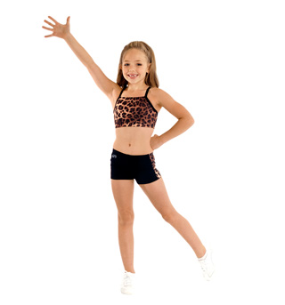 Child Comfort Waist Cheer Short - Style No CB515C