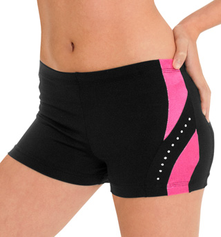 Child Side Twist Cheer Short - Style No CB527C