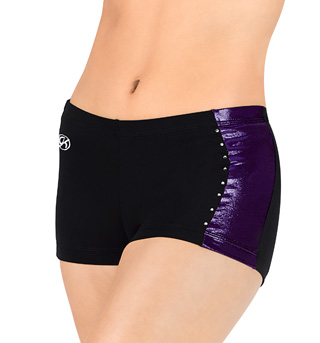 Adult Side Stripe Cheer Short - Style No CB533