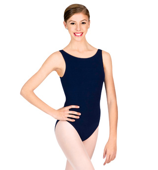 Adult High Neck Tank Leotard - Style No CC201