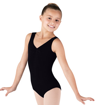 Child Gathered Tank Leotard - Style No CL5435