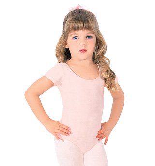 Child Scoop Back Cap Sleeve - Style No CL5462