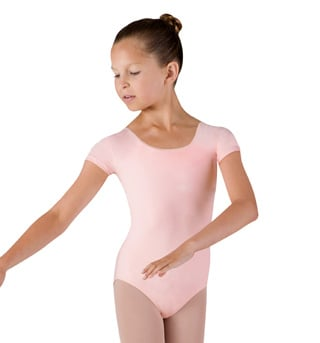 Girls Essential Short Sleeve Leotard - Style No CL5602