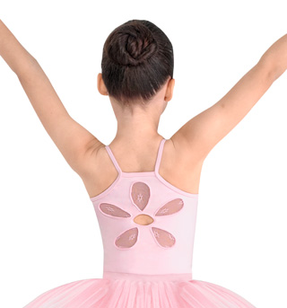 Girls Daisy Mesh Camisole Leotard - Style No CL7647