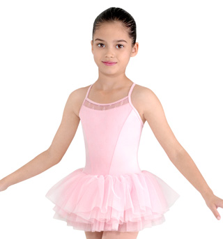 Girls Camisole Tutu Dress - Style No CL8077