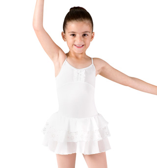 Girls Camisole 3 Tier Tutu Leotard - Style No CL8082