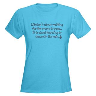 Women Dance In The Rain T-Shirt - Style No CP573