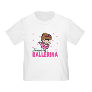 Toddler Future Ballerina Baby T-Shirt - Style No CP580