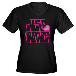 Women Just Dance V-Neck T-Shirt - Style No CP593