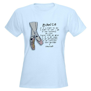 Women Dance T-Shirt - Style No CP598