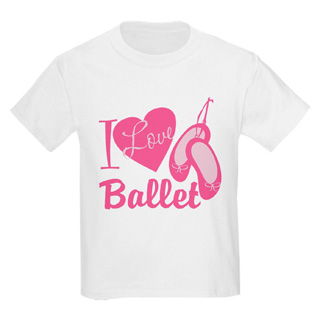 Child I Love Ballet T-Shirt - Style No CP824