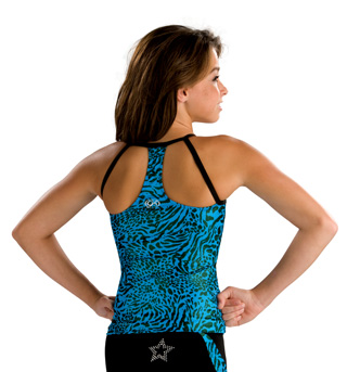 Adult Shawn Johnson Fierce Back Top - Style No CS120