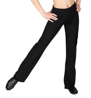 Child Roll Waist Jazz Pants - Style No D1048C