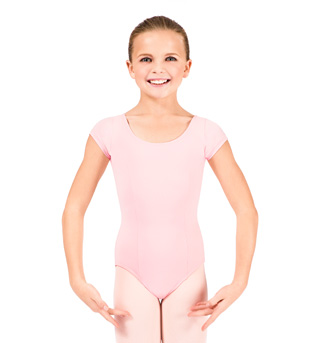 Child Cap Sleeve Leotard - Style No D156