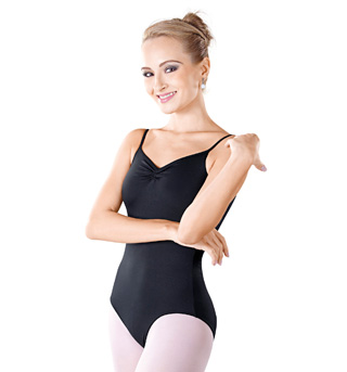 Adult Pinch Front Camisole Leotard - Style No D2828