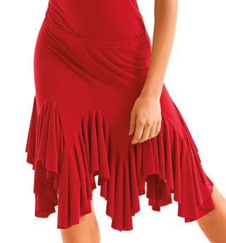 Adult Ruffled Skirt - Style No D381