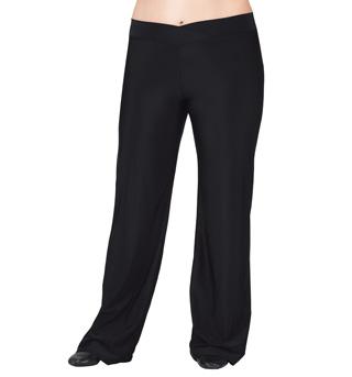 Adult Plus Size V-Front Jazz Pants - Style No D5107W