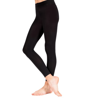 Adult Ultrasoft Microfiber Crop Tight  - Style No D9754
