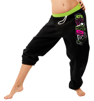 Child Sweatpants with Old School Screen - Style No DA290Cx