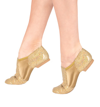 Girls Glitter Jazz Shoes - Style No DAZZLEC