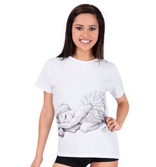 Swan Adult Babydoll T-Shirt - Style No DD30305