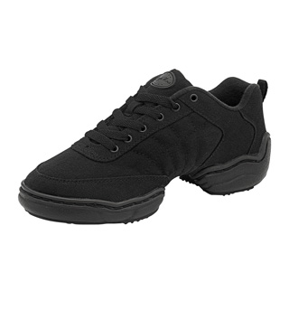 Unisex Split-Sole Canvas Dance Sneaker - Style No DN520L