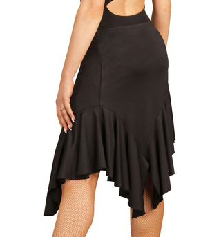 Adult Asymmetrical Ruffle Skirt - Style No DSA006