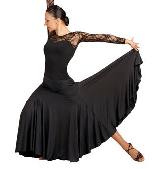 Adult Gore Panel Long Skirt - Style No DSA007