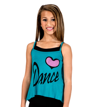 Child Dance Camisole String Back Top - Style No FD0176C