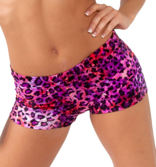 Leopard Dance Shorts - Style No FD0201