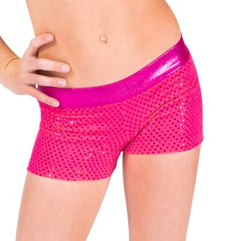 Adult & Child Sparkle Dot Short - Style No FD93