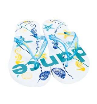 Seashell Flip Flop Sandal - Style No FFS02x