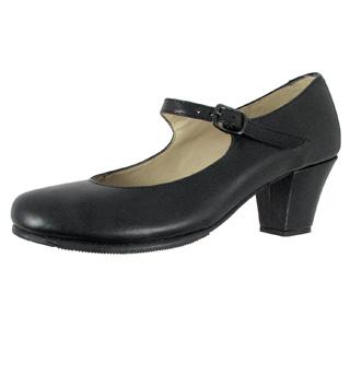 Child Buckle Strap Folklorico Shoe - Style No FLT100