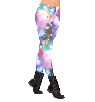 Rainbow Galaxy Leggings - Style No FP021