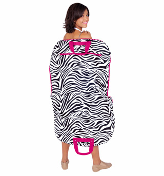 Zebra Print Garment Bag - Style No GM40