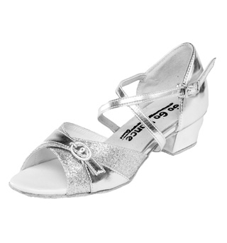 Girls Latin/Rhythm Ballroom Shoe - Style No GO306
