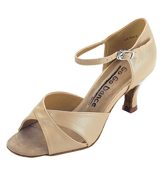 Ladies Latin/Rhythm Ballroom Shoe - Style No GO408