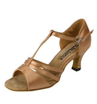 Ladies Latin/Rhythm Ballroom Shoe - Style No GO413