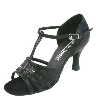 Ladies Latin/Rhythm Ballroom Shoe - Style No GO430