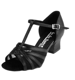 Ladies Cuban Heel Ballroom Shoe - Style No GO711