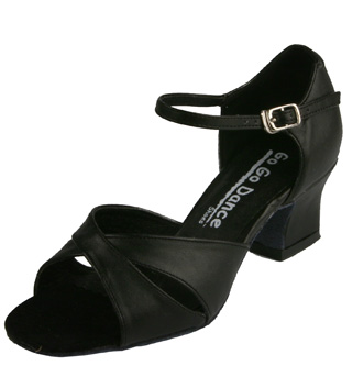 Ladies Cuban Heel Ballroom Shoe - Style No GO712
