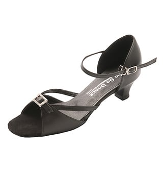 Ladies Latin/Rhythm Ballroom Shoe - Style No GO716